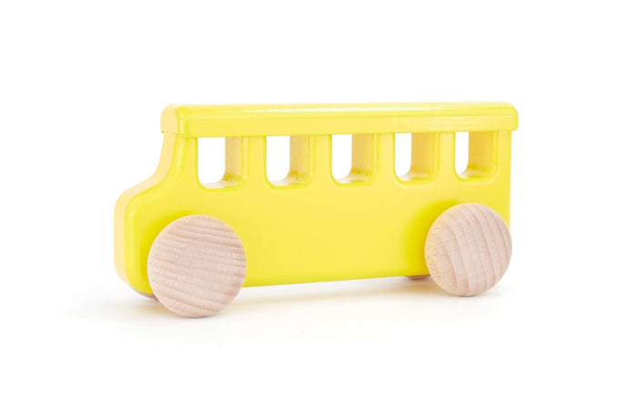 Wooden Brooklyn School Bus