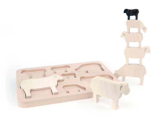 Wooden Sheep Sorter