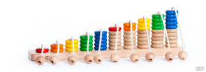 Wooden Rope Abacus