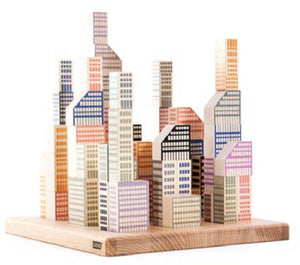 Wooden Manhattan Blocks