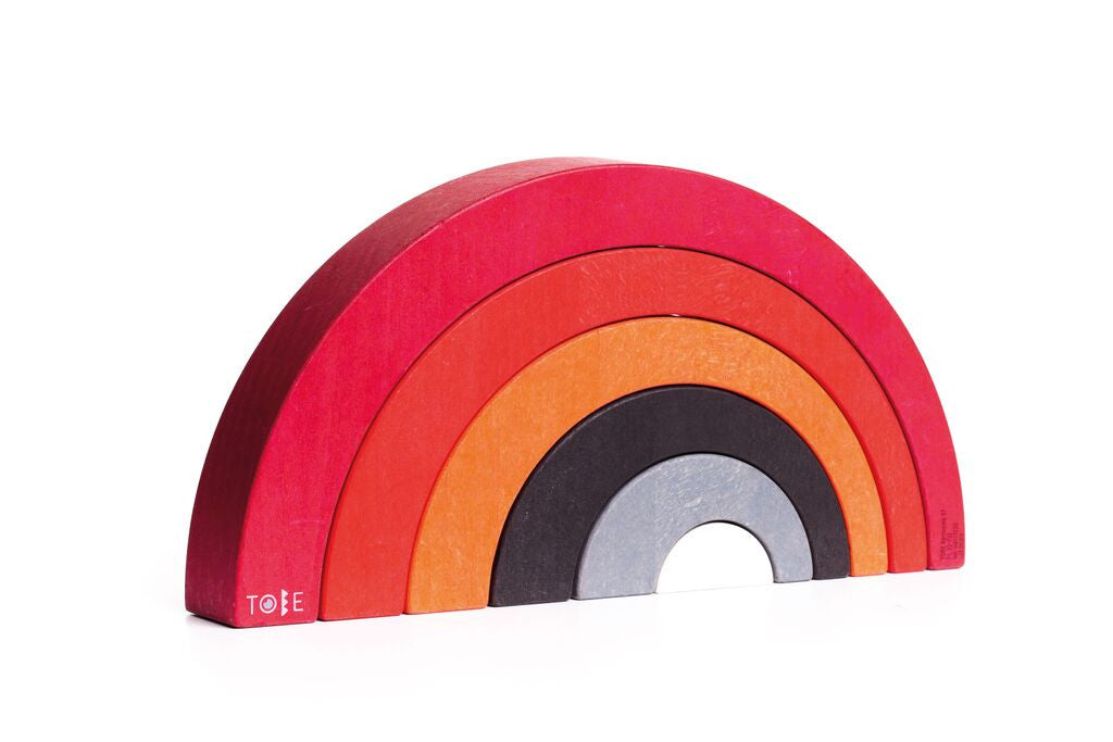 Wooden Arched Rainbow