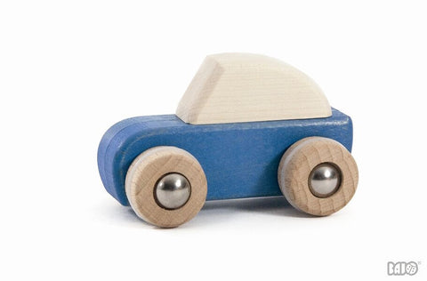 Wooden Pullback Car