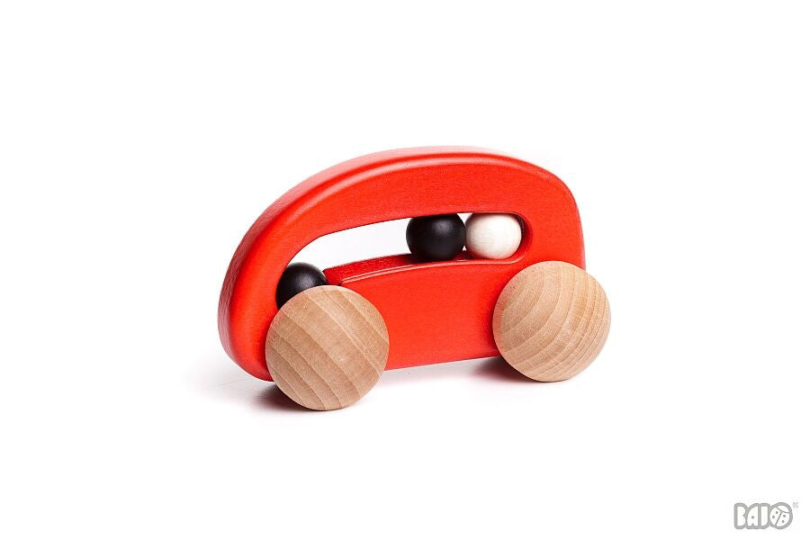 Wooden Car w/ Beads
