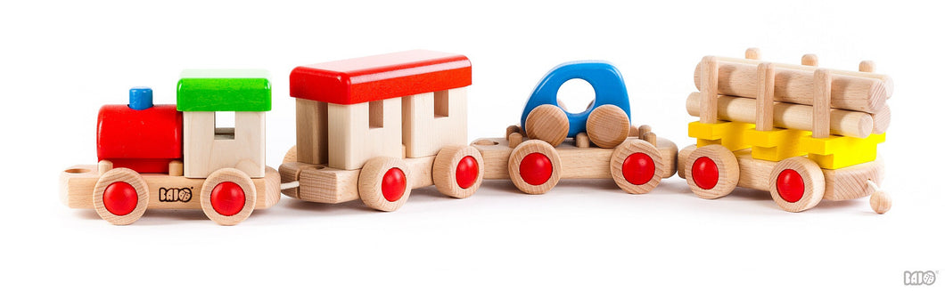 Wooden Train to Build