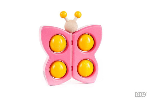 Wooden Butterfly Push/Pull Toy
