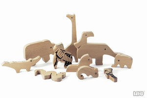 Wooden Jungle Puzzle