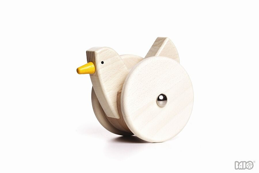 Wooden Wobbling Chicken Pull/Push Toy