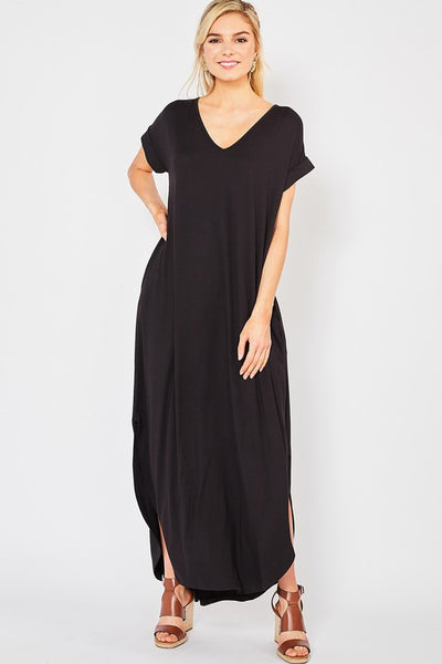 Essential Maxi in Black