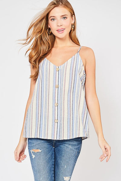 One Day Striped Top
