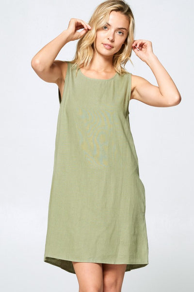 Whenever You Want Dress in Olive