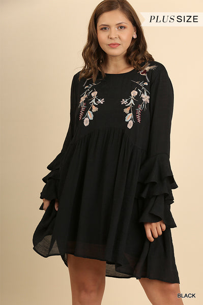 Take Me Away Dress in Black
