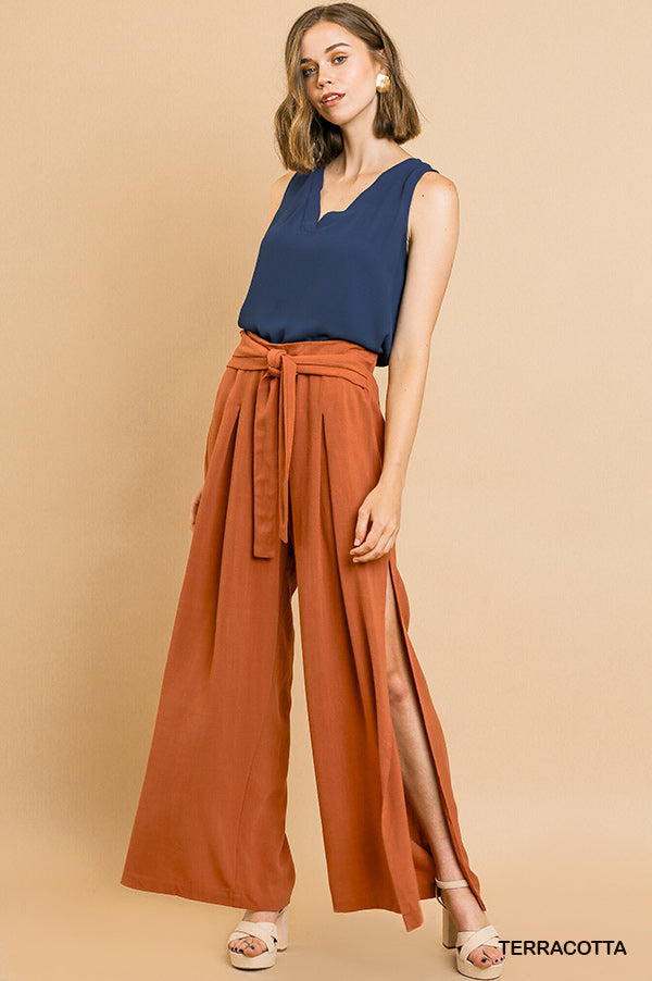 Never A Dull Moment Pant in Terracotta