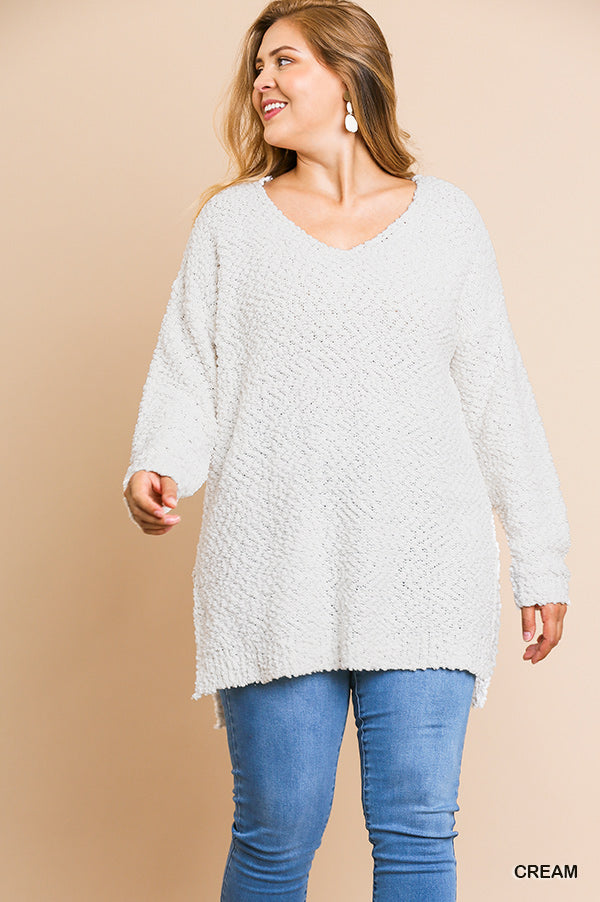 All The Feels Sweater in Cream