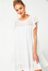Pure Bliss Dress in Off White