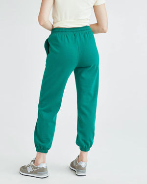 evergreen Richer Poorer fleece jogger heavy weight thick sweatpants soft | pipe and row boutique fremont seatle