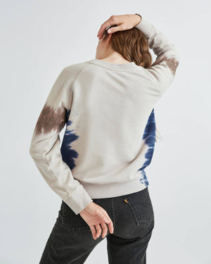 CREW FLEECE SWEATSHIRT TIE DYE