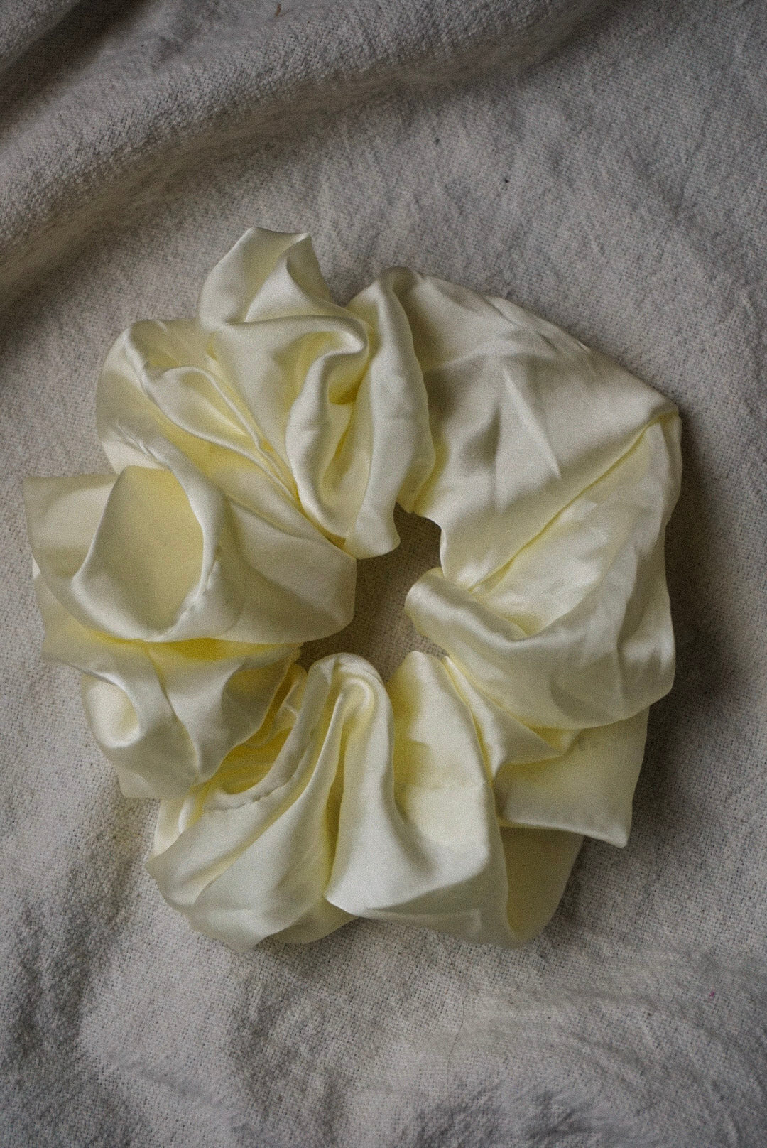 Silky oversized silky satin scrunchy | pipe and row boutique fremont