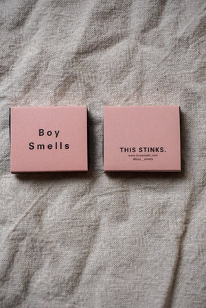 Boy Smells Pink black Matches This Stinks | Pipe and Row Seattle Boutique