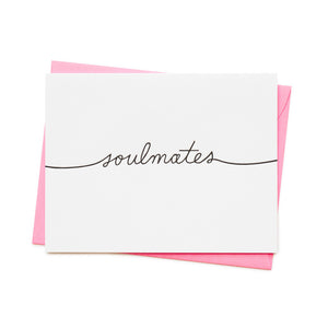 ASHKAHN SOULMATES GREETING CARD | PIPE AND ROW BOUTIQUE SEATTLE