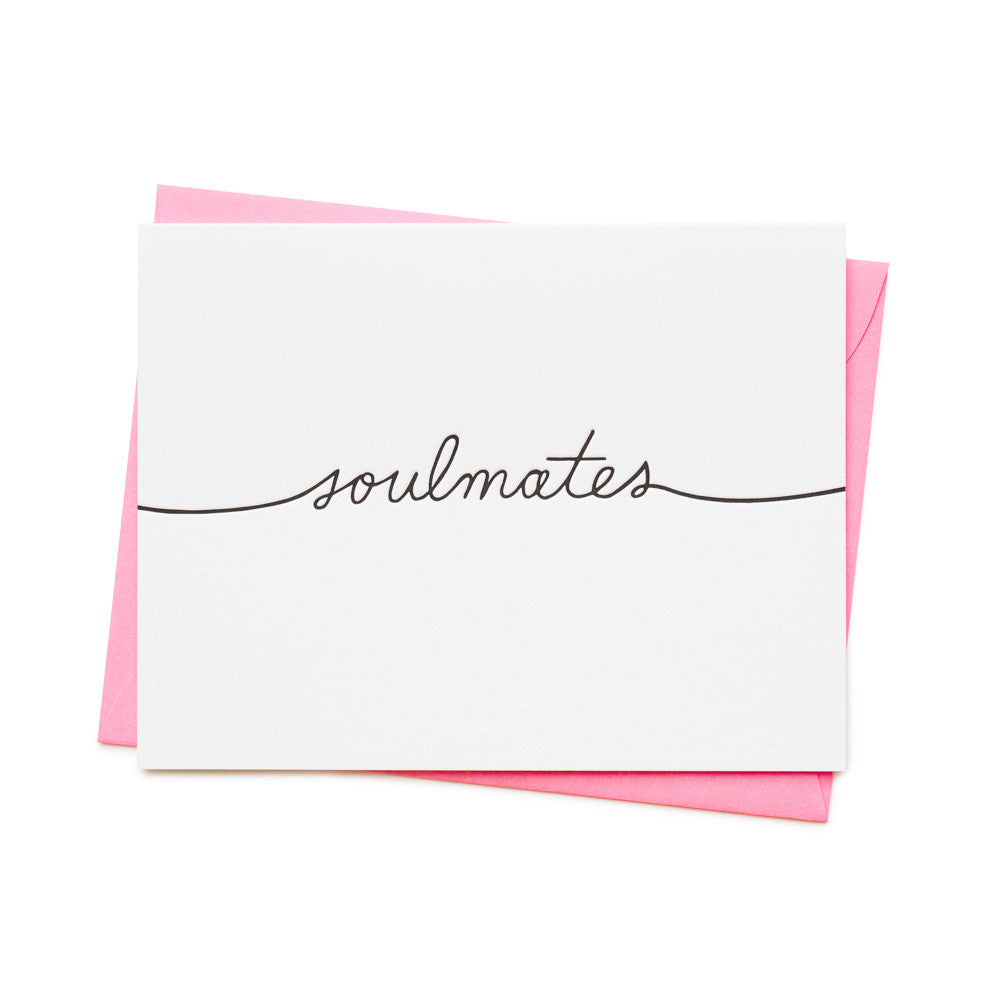 ASHKAHN SOULMATES GREETING handmade CARD | PIPE AND ROW BOUTIQUE SEATTLE