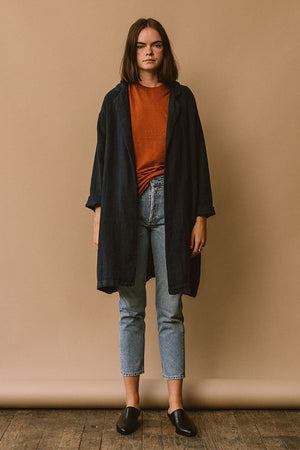 Filosofia Anna linen duster jacket | pipe and row