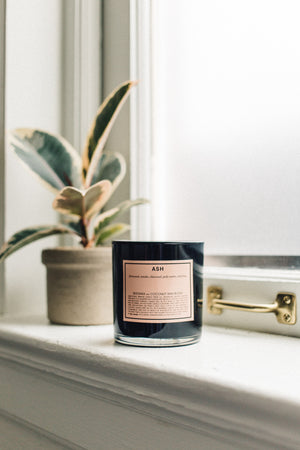 BOY SMELLS ASH CANDLE | PIPE AND ROW