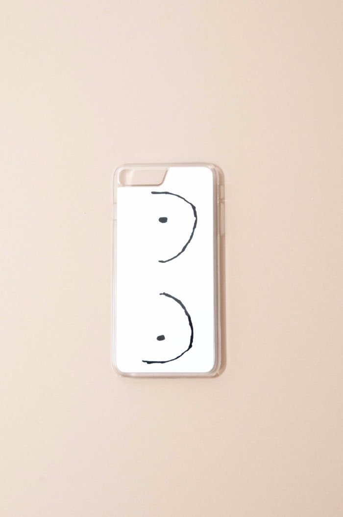 Boob drawing iphone case gifts for your girl gang | Pipe and row