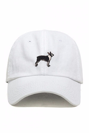 DOG LIMITED BOSTON TERRIER DAD HAT | PIPE AND ROW EMBROIDERY