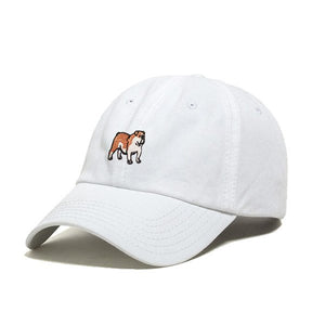 DOG LIMITED ENGLISH BULLDOG DAD HAT EMBROIDERY | PIPE AND ROW