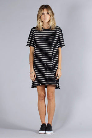 KNOT SISTERS SLOUCHY TEE DRESS | PIPE AND ROW
