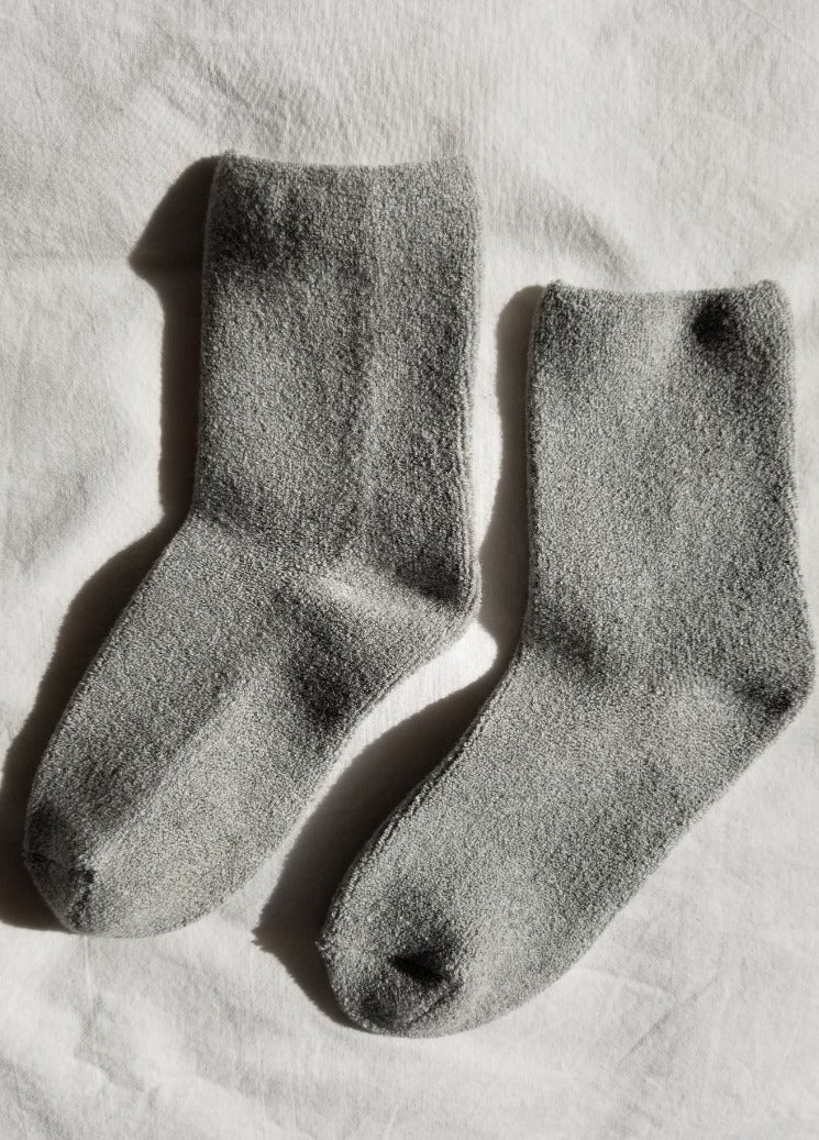 CLOUD SOCKS HEATHER GREY