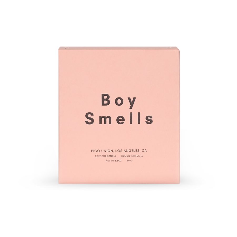Boy Smells Redhead candle black pink | pipe and row boutique seattle fremont