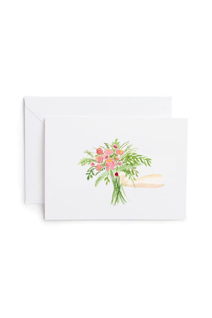 GIFT OF FLOWERS CARD