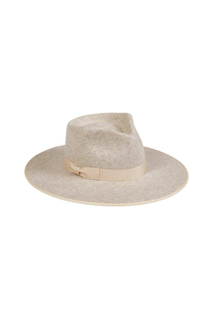 Lack of Color Carlo rancher wide brim hat in speckled ivory | Pipe and Row