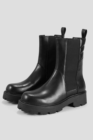 Vagabond Cosmo 2.0 chunky boot tread black leather | Pipe and Row Boutique