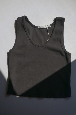 BLONDIE TANK VINTAGE BLACK