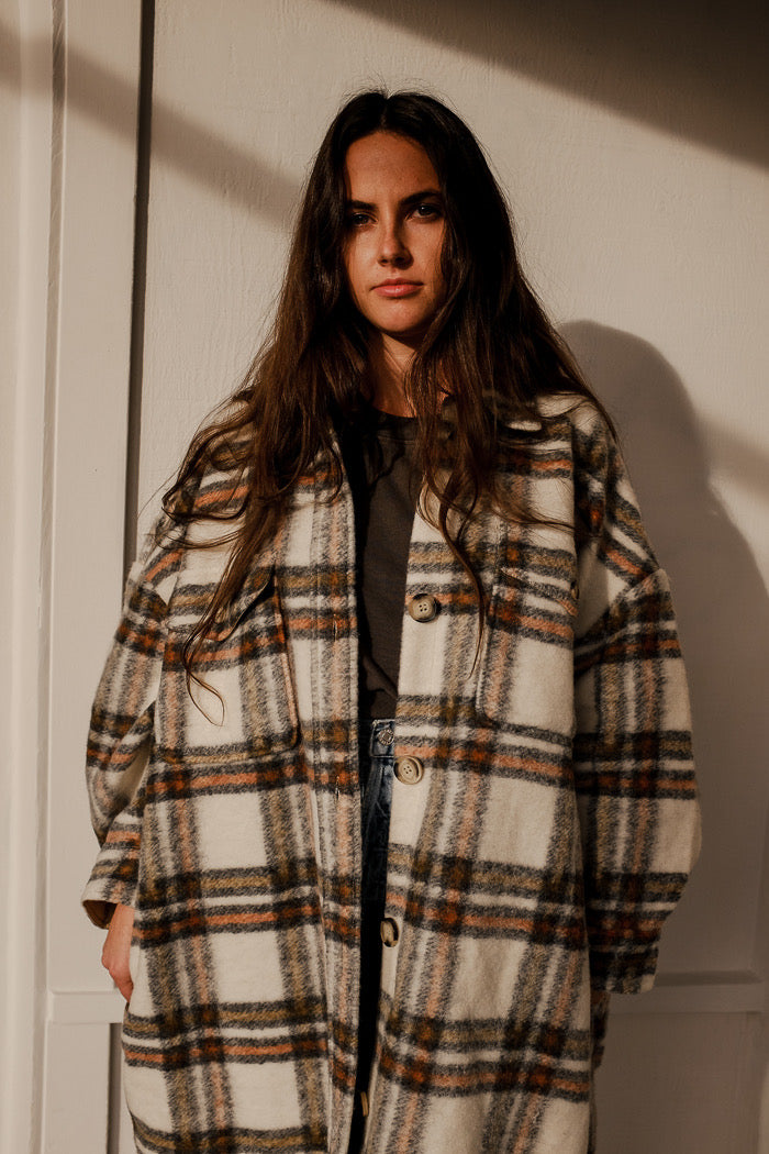BLAKE PLAID COAT