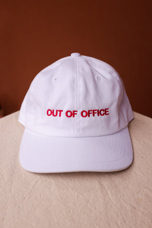 OUT OF OFFICE WHITE
