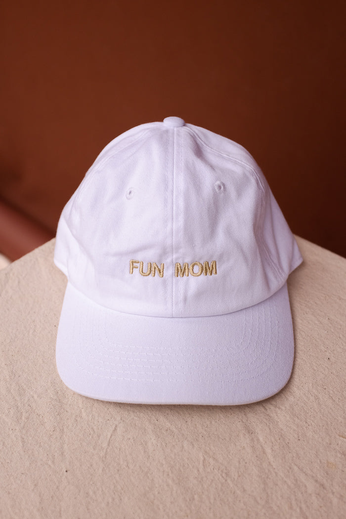 Intentionally Blank fun mom embroidered dad hat mothers day gift  | pipe and row