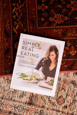 SIMPLY REAL EATING COOKBOOK Sarah Adler | Pipe and Row