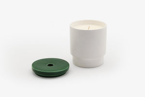 DARK GREEN CANDLE