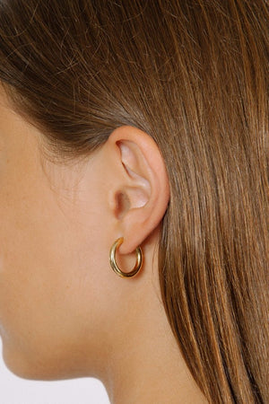 GIA HOOP EARRINGS