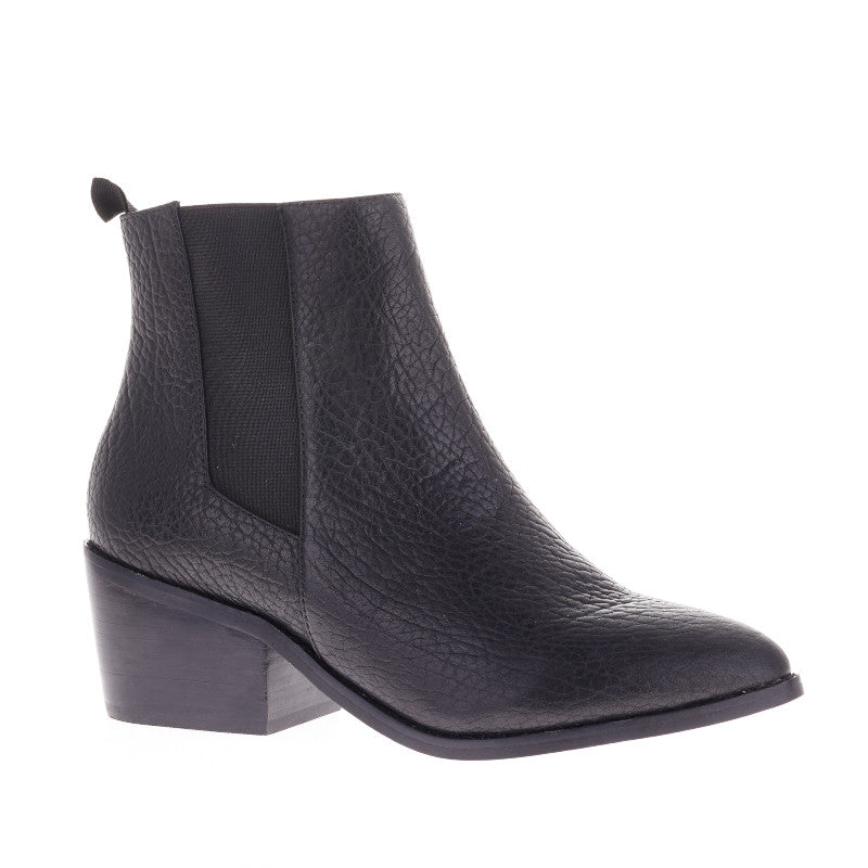 SOL SANA EDGAR TEXTURED ELEPHANT BOOT BLACK | SEATTLE PIPE AND ROW
