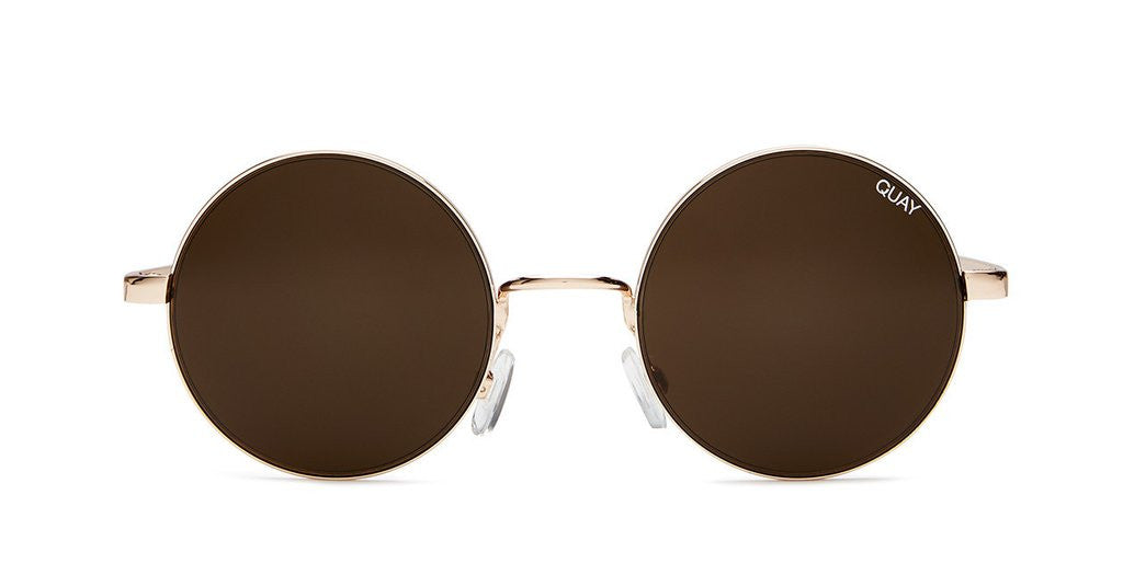 QUAY ELECTRIC DREAMS ROUND SUNGLASSES | PIPE AND ROW