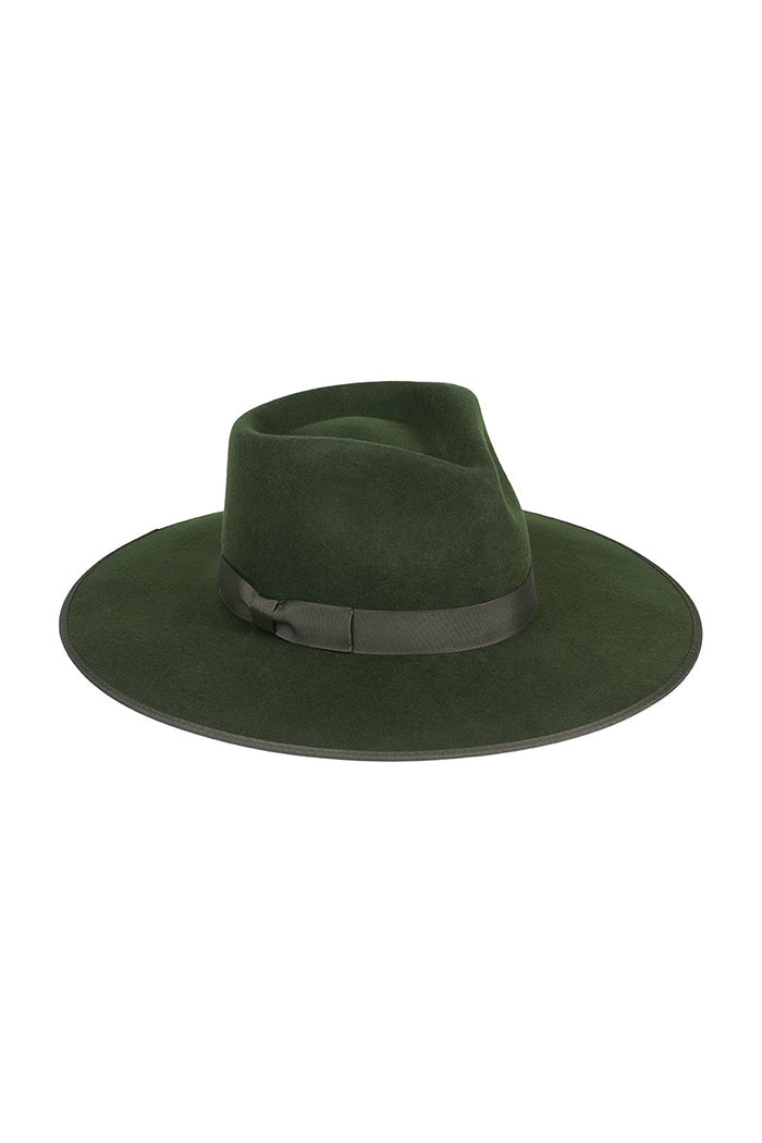 Lack of Color Forest green Rancher hat | pipe and row boutique local seattle fremont