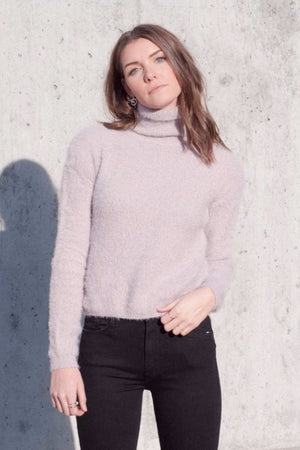 FRANCESCA LILAC SWEATER