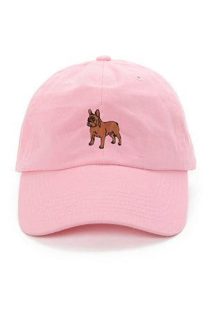 DOG LIMITED FRENCH BULLDOG DAD HAT PINK | PIPE AND ROW
