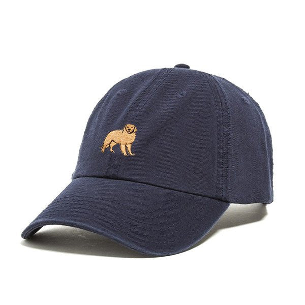 Dog Limited Golden Retriver Dad Hat Navy | PIPE AND ROW