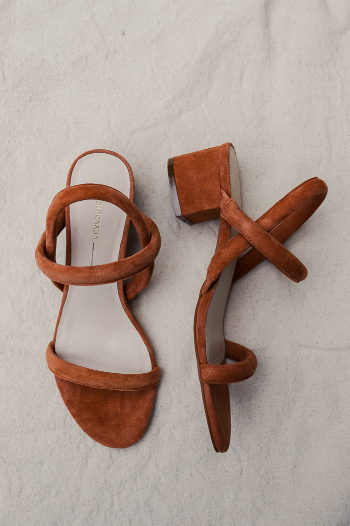 pipe and row intentionally blank Kimi sandal tan
