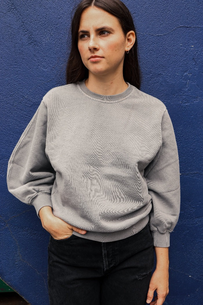 THORA SWEATSHIRT ZINC